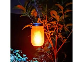Lumisky solar Led-lantaarn Jamy Flame