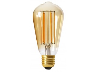 MOODZZ Dimbare Filament LED lamp ST64 six pack (6 stuks)