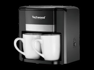 Techwood Duo koffiezetter TCA-206