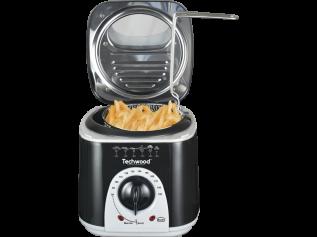 Techwood mini frituur- en fonduepan TFF-86