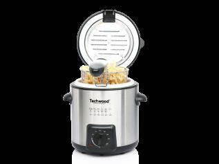 Techwood mini frituur- en fonduepan TFF-99i