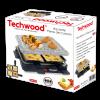 Techwood Steengrill- en Racletteset TRA-47P
